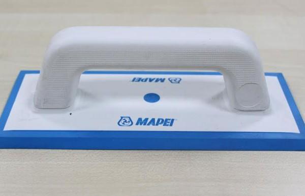 Шпатель для затирки gomma per fughe (резиновый) Mapei